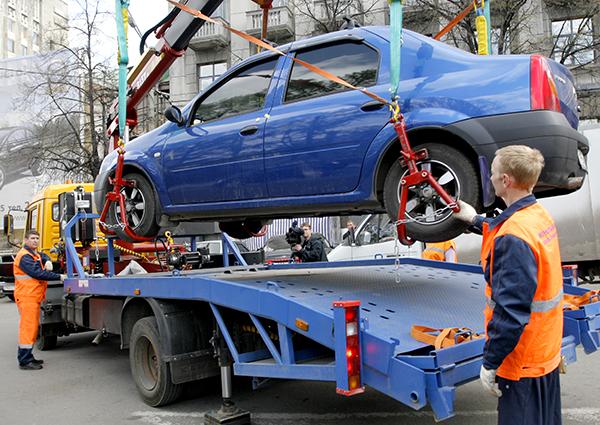 Эвакуировали авто в Нижнем Новгороде